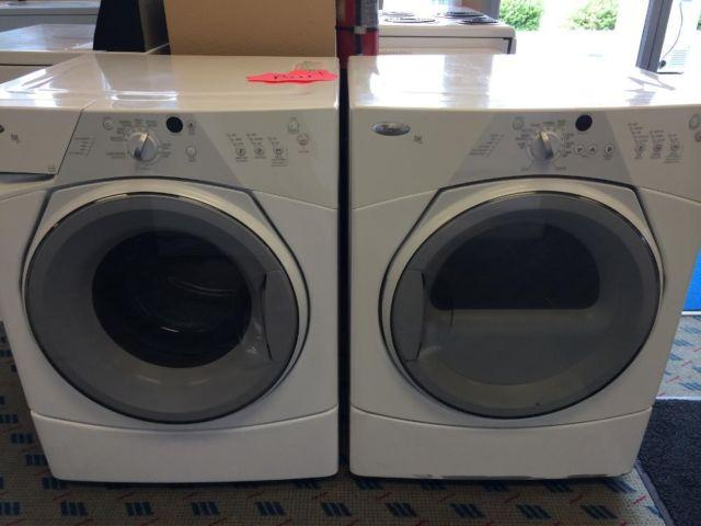 Whirlpool Duet Sport Front Load Washer Amp Dryer Used For