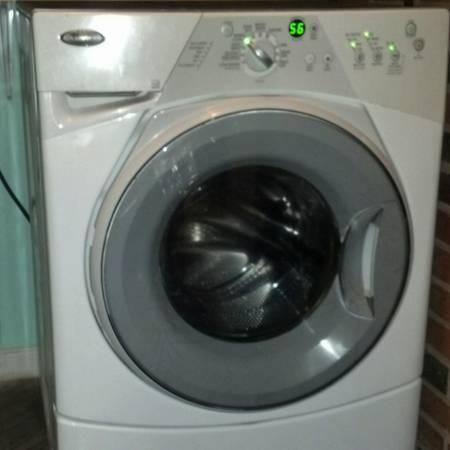 Whirlpool Duet Sport Ht White Front Load Washer Used For