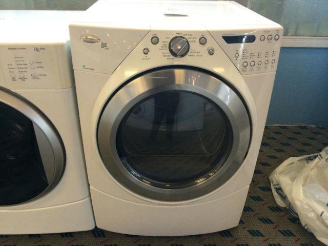 Whirlpool Duet Steam Front Load Dryer Used For Sale In