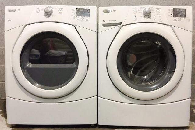 WHIRLPOOL DUET WASHER AND DRYER IN COLUMBIA, MD