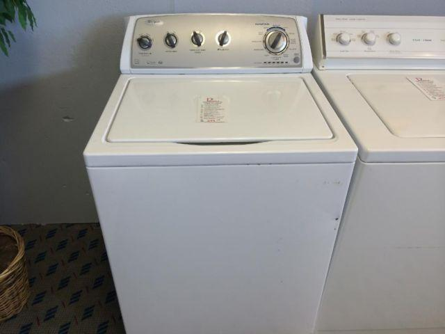 how to clean whirlpool top load washer