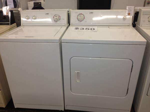Whirlpool Estate Washer Dryer Set 6 Month Warranty