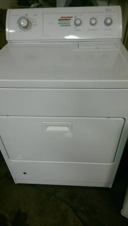 whirlpool gas dryer - $180
