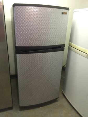 Whirlpool Gladiator Refrigerator bezeled stainless - food truck ...