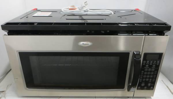 Whirlpool Microwave Over Range Mh2175xss Stainless