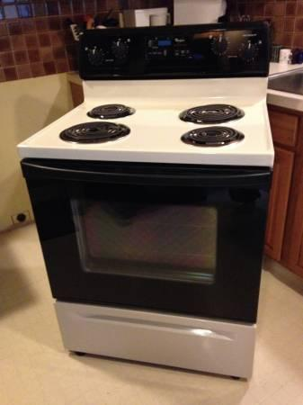 Whirlpool Oven Stove Range In Great Working Order For