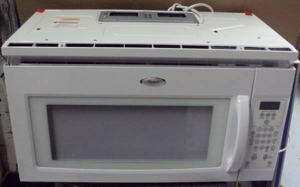 Whirlpool Over Range Microwave 950 Watt White Mh1160xsq
