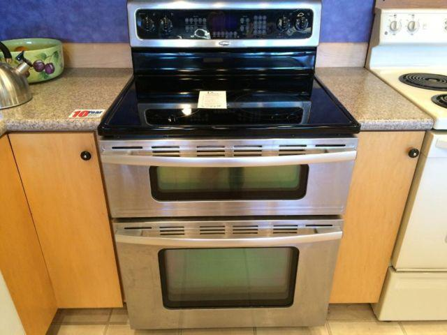 Whirlpool Stainless Freestanding Double Oven Stove Range