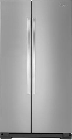 Whirlpool Stainless Steel Side by Side Refrigerator