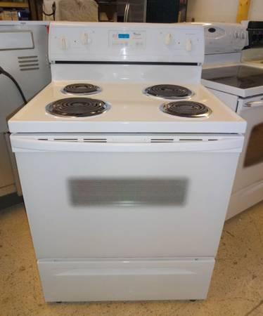 whirlpool 465 electric range kitchen appliances for sale in the usa rh americanlisted com Whirlpool Gas Range Parts Whirlpool Electric Range