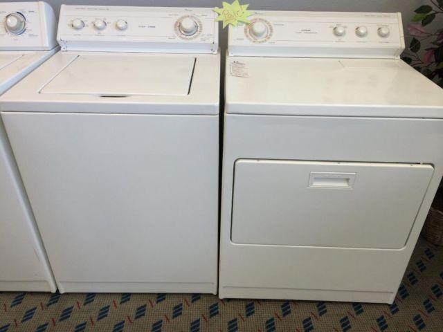 Whirlpool Supreme Washer Amp Dryer Set Pair Used For