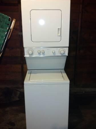 Whirlpool Thin Twin Stackable Combination Gas Dryer