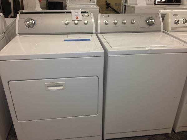 whirlpool ultimate care ii washer and dryer set 6