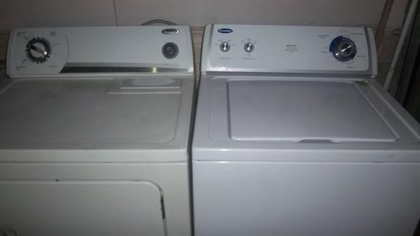Whirlpool Washer and Dryer - $310