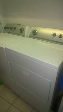 Whirlpool Washer and Dryer - $600