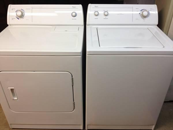 Whirlpool Washer And Dryer White Extra Large Capacity