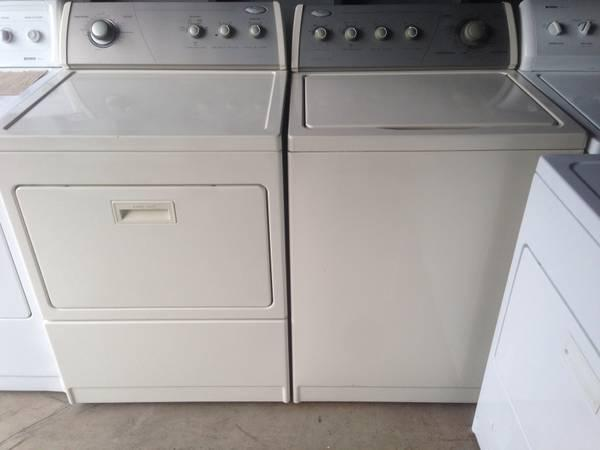 whirlpool washer and gas dryer 370