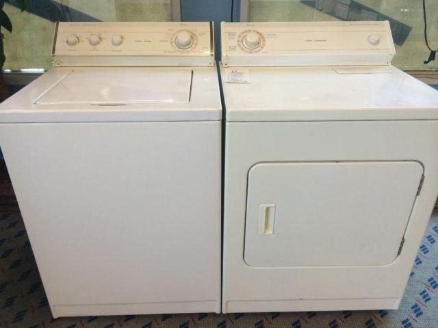 Whirlpool Washer & Dryer Set / Pair - USED