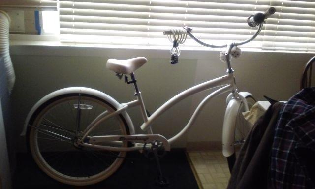 White beach cruiser for sale..best offer