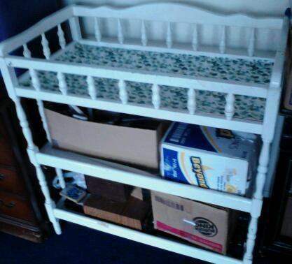 White Changing Table Graco Playpen Both Or Seperate
