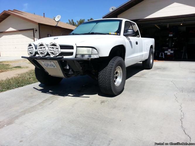 White Dodge Dakota Prerunner Americanlisted on 2002 Dodge Dakota Throttle Body