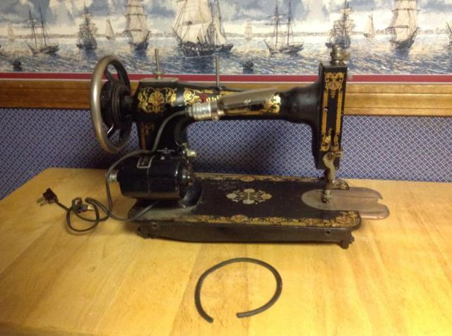 White family rotary sewing machine