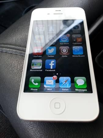 White iPhone 4S at&t - $250