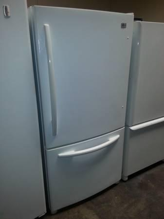 White Lg Bottom Freezer Refrigerator For Sale In Chino