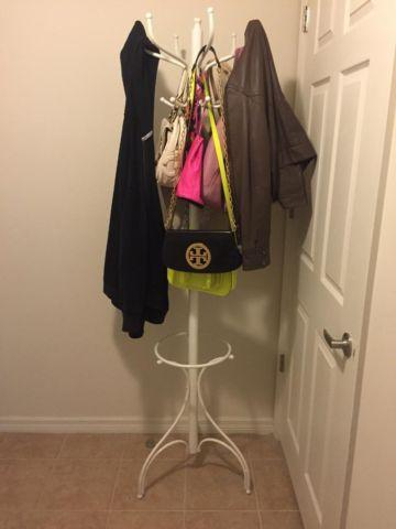 White Metal Coat Rack For Sale OBO For Sale In Davie Florida Awesome Coat Rack For Sale