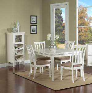White Or Cherry Pub Table And Eight Barstools West