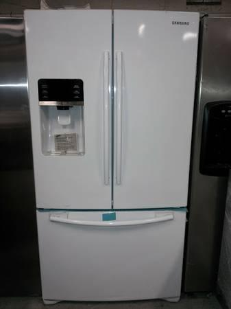 White samsung french door fridge for sale in paterson for White french doors for sale
