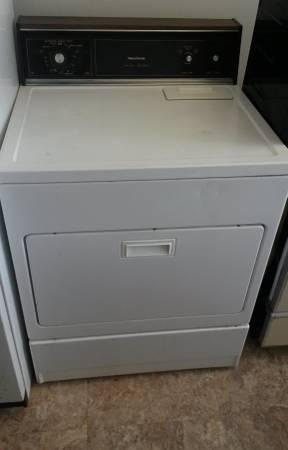White Sears Kenmore Heavy Duty Gas Dryer For Sale In