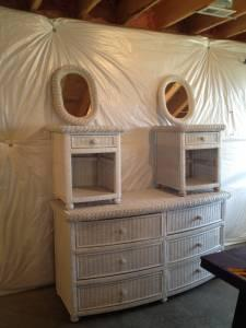 White wicker bedroom furniture linden for sale in for Affordable furniture va winchester va