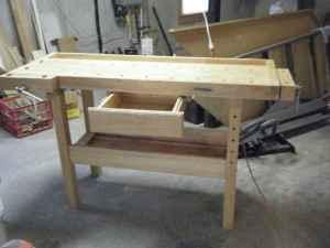 White Gate Woodworking Bench With Wood Vises Lynchburg