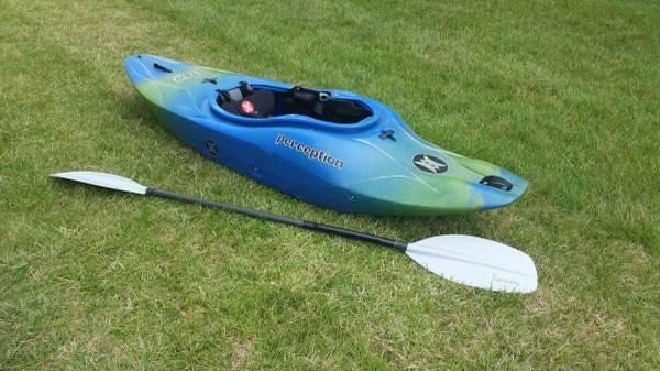 Whitewater Kayak - Perception Blaze 7 1