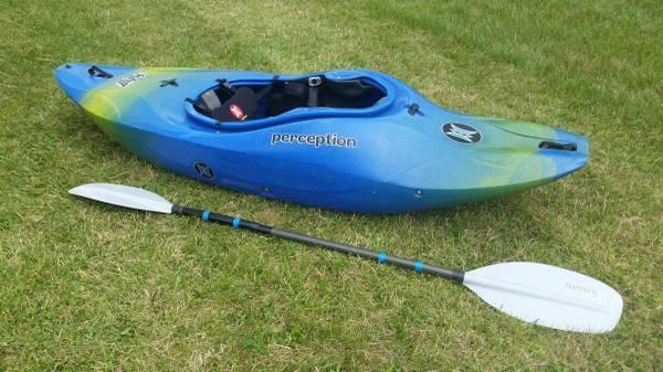 Whitewater Kayak - Perception Blaze 7 3