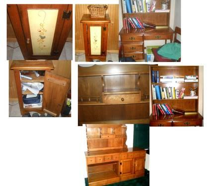 Whole house of mid century and older furniture for sale for Bedroom furniture union nj
