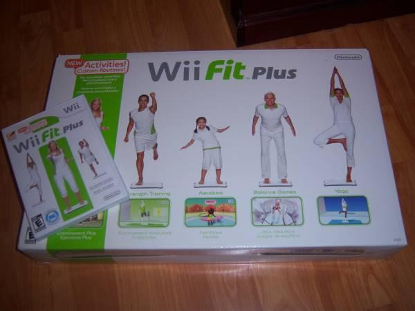 Wi Fit Plus and Balance Board  other wii gamesfor sale seperately - $40