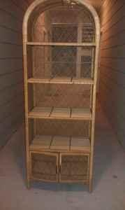 Wicker Bookcase Pensacola Davis University For Sale