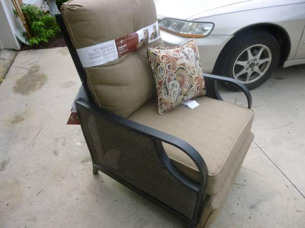 Wicker Lazyboy Patio Recliner Brand New W Tags For In Citrus Springs Florida