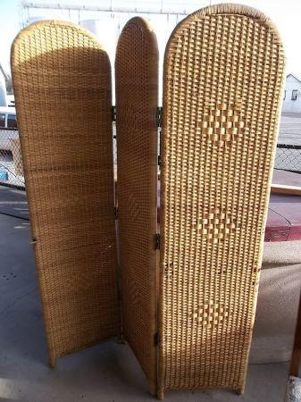 Wicker room divider Redding for Sale in Redding California