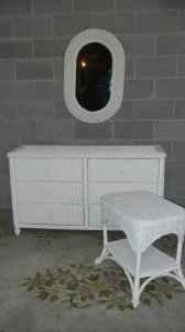 White Wicker Bedroom Furniture on Wicker Bedroom Furniture    175  Hagerstown  For Sale In Chambersburg