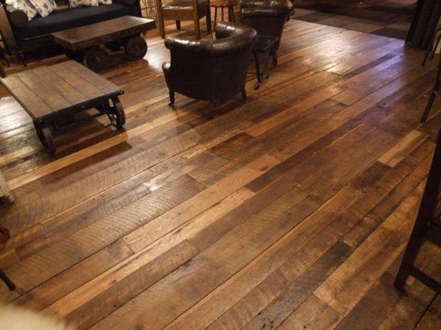 Wide Plank Flooring Antique Wood Floors Old Recycled Distressed For Sale In Franklin Lakes