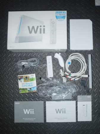 Wii and Wii Fit Bundle - $300