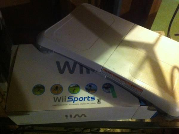 Wii + Balance Board - $75