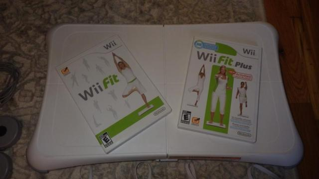Wii Fit Balance Board and many extras