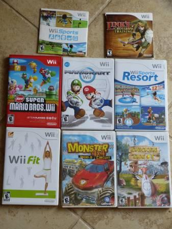 Wii Game System Bundle