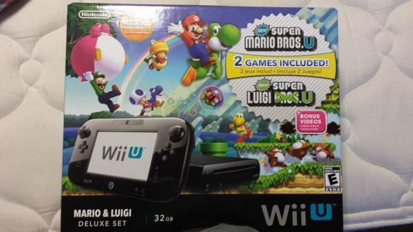 Wii u Brand new - $250