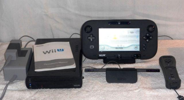 Wii U Deluxe, 32 GB, Game Pad, Remote Plus