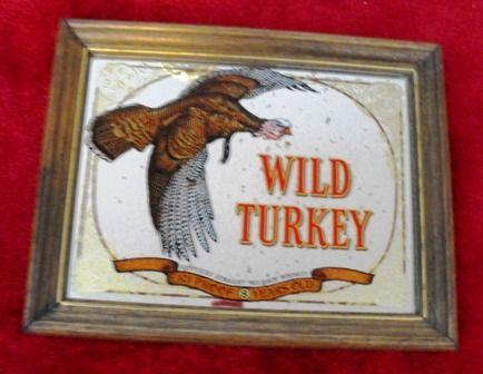 wild turkey bourbon mirror sign for sale in brainerd minnesota classified